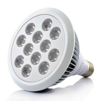 Bombilla led de cultivo interior 12 leds 12w rojo for Bombillas cultivo interior