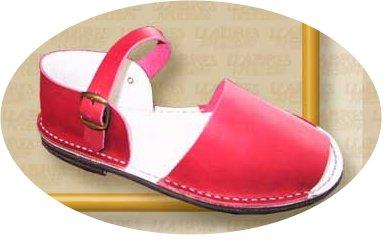 avarcas, sandalias tipicas de menorca mallorca